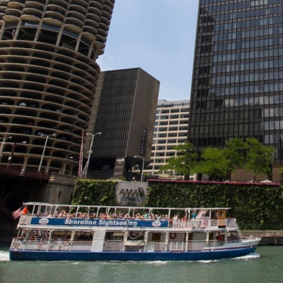 Architecture River Cruise from Michigan Ave