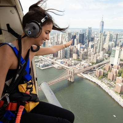 Helicopter Flights Over NYC