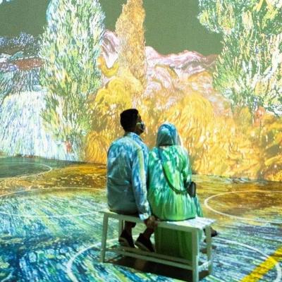 Date Night Tickets to Immersive Van Gogh NYC