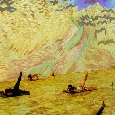 Yoga Classes at Immersive Van Gogh SF