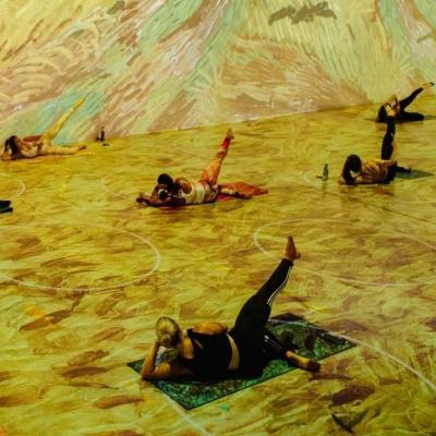 Yoga Classes at Immersive Van Gogh Chicago